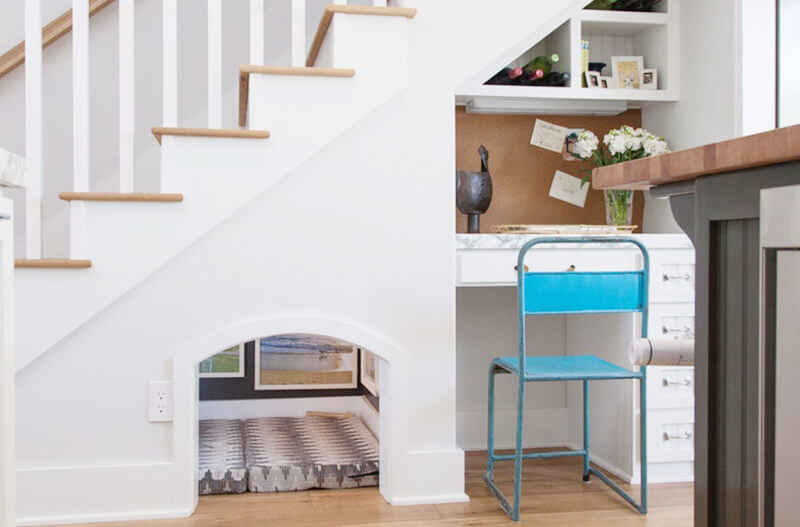 under stairs storage idea and inspiration