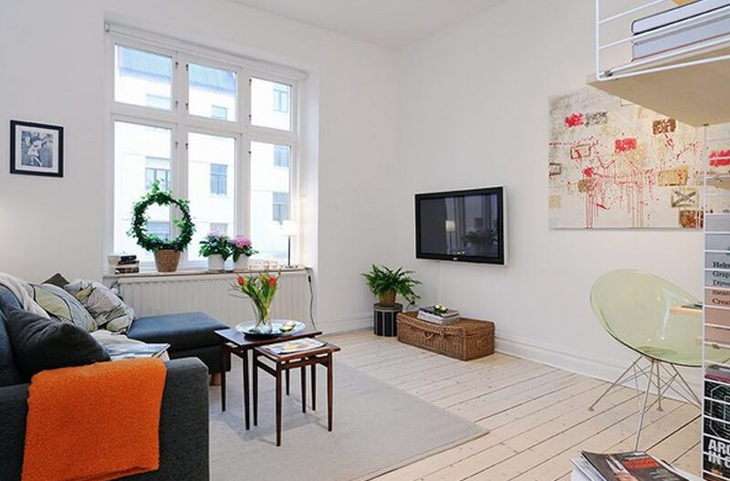 Smartly Planned Small Apartment With An Welcoming Interior Design