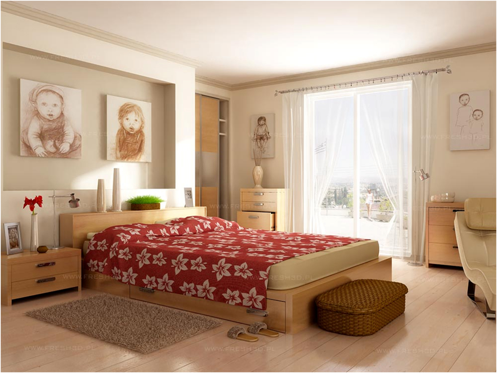 Wooden Furniture Modern Bedroom Design Inspiration