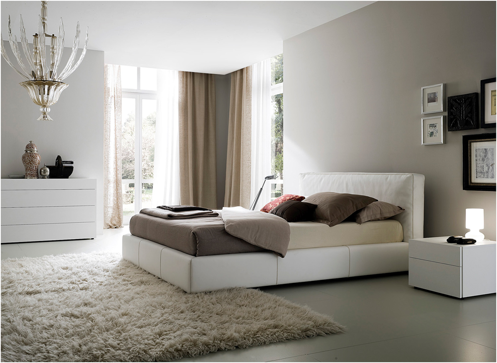 Beautiful White Bedroom Design Inspiration