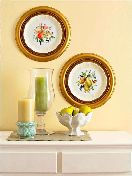 Nice Vintage Decorative Wall Plates Frieze - Wall Art Design ...