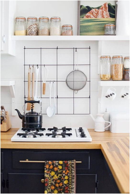 black and white kitchen Inspiration
