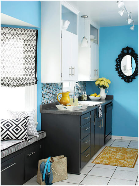 Blue-Color-Kitchen-Idea
