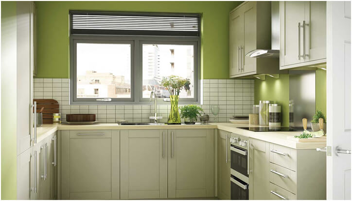 Olive-Green-Kitchen-Decor-Idea