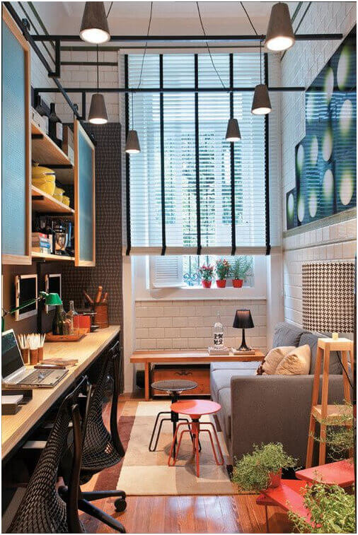 20 creative home office design ideas styling your home for Home office style ideas