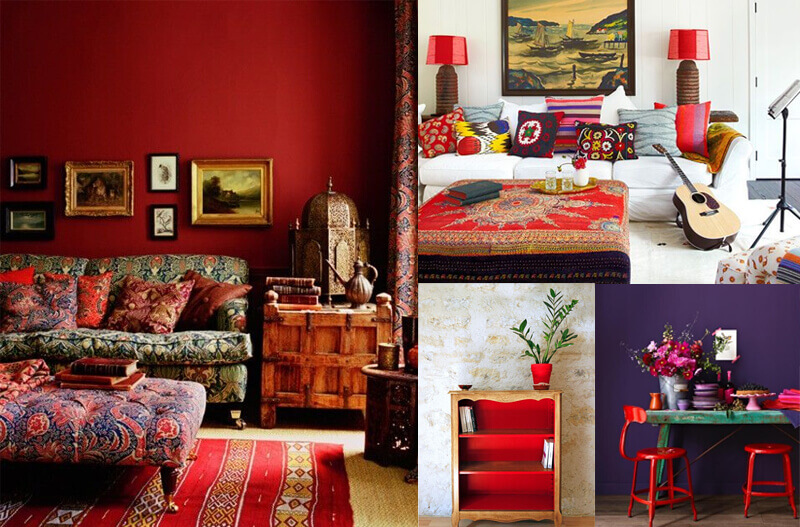 Interior Color Inspiration of the Week – RED