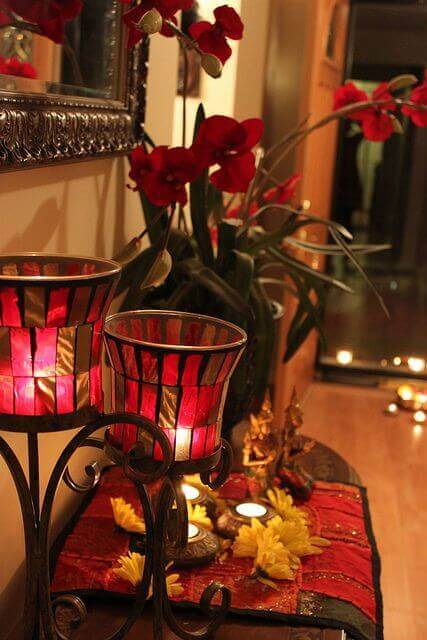 Decoartion for diwali amazing diwali decoration ideas interior designology Home decorations for diwali
