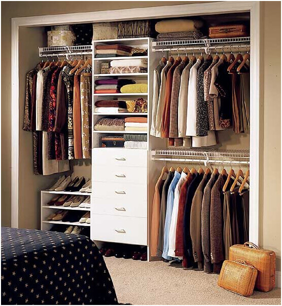 reach-in closet ideas