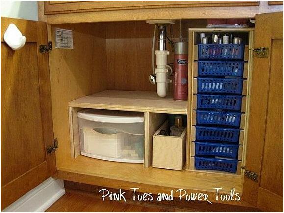 DIY-Under-Cabinet-Storage-System