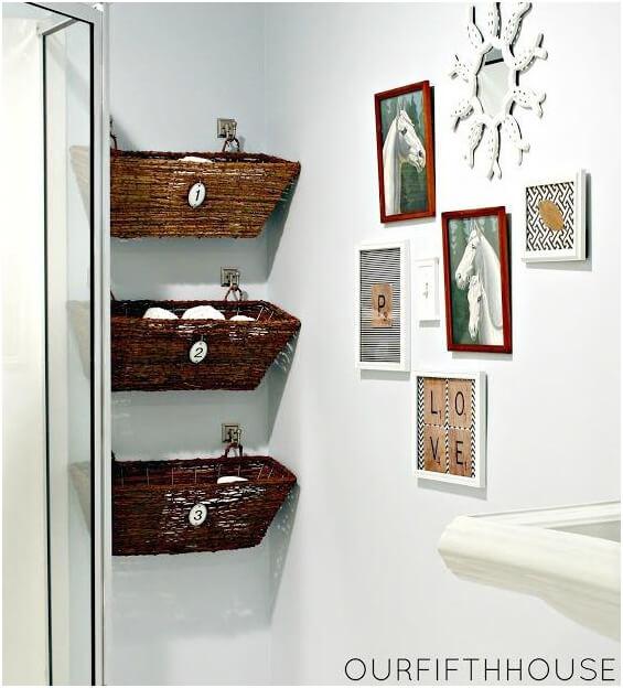 Wall-Mounted-Wicker-Window-Baskets